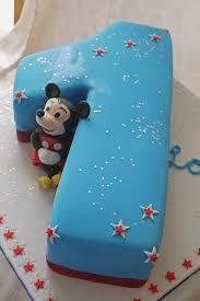 Mickey Mouse Birthday Cake For 1 Year Old Boy Amazingbirthdaycaketk