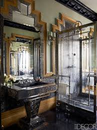 elle decor bathrooms. Home Interior Design, Lorenzo Castillo Apartment In Madrid Elle Decor: Interesting Art Deco Bathrooms Decor