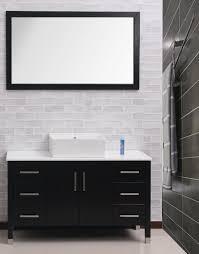 Bathroom Vanity Black Bathroom Black Floating Modern Bathroom Vanity With Drawers