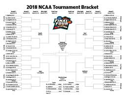 Ncaa Tournament Bracket Scores Printable 2018 Ncaa Mens Basketball Tournament Bracket Fort Worth