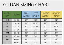 Hollister Jacket Size Chart Gildan Sizing Guide Hollister Sizing Chart Hollister Size