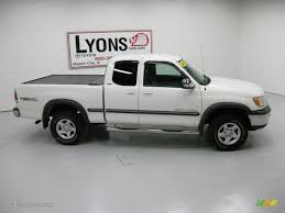 2000 Natural White Toyota Tundra SR5 TRD Extended Cab 4x4 ...