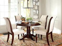post navigation glass top round dining table set