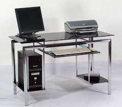 tempered glass office desk. Medium Size Of Office Desk:contemporary Glass Desk Table Modern Tempered