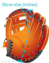Catchers Mitt Size Chart Baseball Glove Size Kids