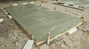 a concrete slab for shed cost