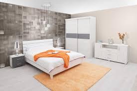 Schlafzimmer Komplett Set N Bermeo 5 Teilig Teilmassiv Farbe