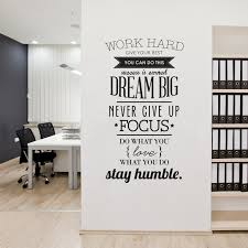 inspiring work hard quotes vinyl wall sticker poster wall art decals living room decoration wallpaper home decor size 104x56cm in wall stickers from home  on wall art decals for living room with inspiring work hard quotes vinyl wall sticker poster wall art decals