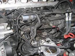 replacing bmw m52 s52 intake manifold m50 intake manifold intake manifold support brackets bolted on to the engine