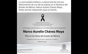 Fallece el cuentista Marco Aurelio Chávez Maya