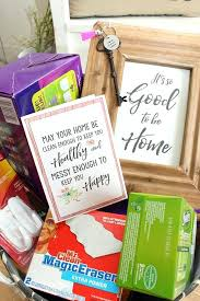 housewarming gift ideas and free home printables clean and package up all of your favorite cleaning