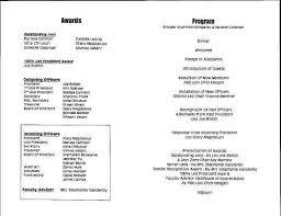 Banquet Program Examples Sample Banquet Program Magdalene Project Org