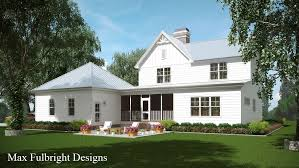 farmhouse house plan screened porch