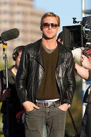 weightless shooting ryan gosling leather jacket