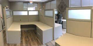ing used office cubicles