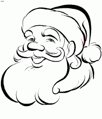 Small Picture Coloring Pages Cartoon Illustration Of Santa Claus Or Father