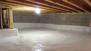 crawl space encapsulation cost.  Space An Empty Crawlspace On Crawl Space Encapsulation Cost W