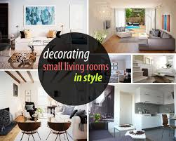 Ways To Decorate Living Room How To Decorate A Small Living Room