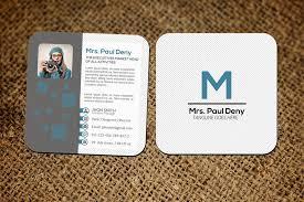 Mini Social Media Business Card