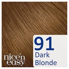 Clairol Nicen Easy Dark Blonde 91 Non Permanent Hair Dye