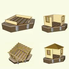 Gartenhaus selber bauen aus Blockbohlen – vollständiger Eigenbau ...