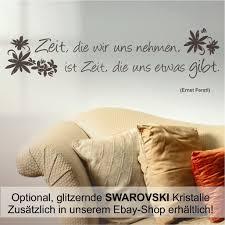 Wandtattoo Spruch Zeit Nehmen Zitat Wohnzimmer Schlafzimmer Flur