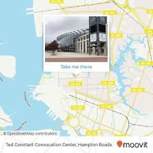 How To Get To Ted Constant Convocation Center In Norfolk By