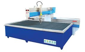 glass waterjet cutting machine from hhh tempering resources