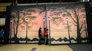 case study mary popins stage backdrops for ozark college you