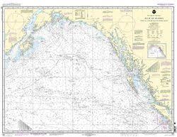 Noaa Nautical Chart 531 Gulf Of Alaska