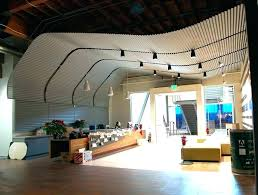 corrugated metal ceiling trim how do you think would look on wood c