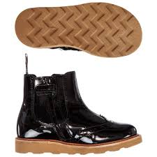 young soles girls patent leather boots childrensalon