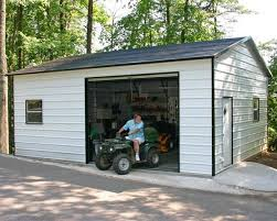 10x8 garage door20x26x9 Boxed Eave Garage  The Building Store