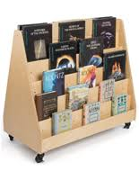 Wooden Book Display Stand Book Display Shelf Retail Shelving For Selling Books Or Magazines 96
