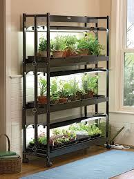 Hydroponic Light Stand 3 Tier Sunlite Garden Shelves Fluorescent T 5 Bulbs