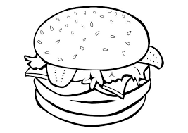 Small Picture Food coloring pages hamburger ColoringStar