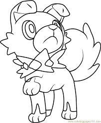 Small Picture Iwanko Pokemon Sun and Moon Coloring Page Free Pokmon Sun and