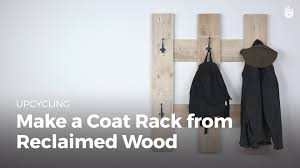Make A Coat Rack Make A Coat Rack From Reclaimed Wood Recycling Pallets Sikana 67