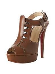 artemis shoes. christian louboutin volnay 140mm leather sandals brown artemis shoes