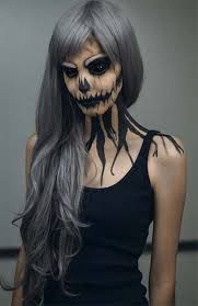 If you're preparing for halloween, check out some halloween makeup ideas,  some halloween face makeup, zombie halloween makeup and banshee makeup.