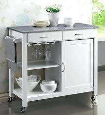 Kitchen Island Cart With Granite Top Crosley Rolling Kitchen Cart