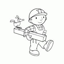 Superleuke Bob De Bouwer Kleurplaten Leuk Voor Kids