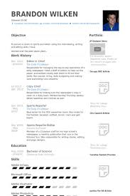 Resume Editor Extraordinary Editor In Chief Resume Samples VisualCV Resume Samples Database