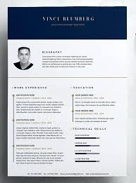 Creative Resume Templates Free Modern Template Creative Professional