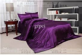 bed sheet and comforter sets purple pink silk comforter bedding set king queen size comforters