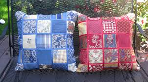 pierre deux patchwork pillows front