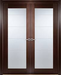 interior double doors with frosted glass designs