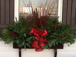 Christmas Window Box Decorations 100 Easy Holiday Window Box Ideas Page 100 of 100 Bless My Weeds 38