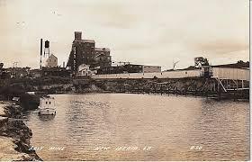 Big Charts History New Iberia Louisiana Salt Mine Ca Early 20th Century