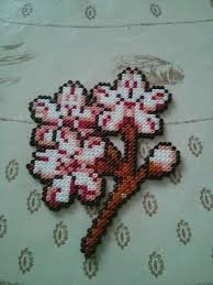 Mini Perler Bead Patterns Inspiration Cherry Blossom Hama Mini Perler By Lullaby Fridge Magnet Project